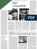 Due Monografie Sul Rapporto Tra Gilles Deleuze e Maurice Merleau-Ponty - Il Manifesto - 05.04.2013