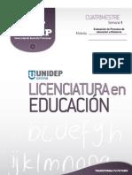 SEM 1 TEMA 1 Evaluacion Del Aprendizaje en La Educacion a Distancia OK