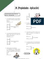 IV Bim - ARIT. - 5to. año - Guía 6 - MCD - MCM (Propiedades