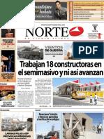 Periodico Norte de Ciudad Juárez 5 de Abril de 2013