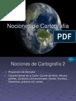 Nociones de Cartografía 2 ppt