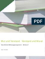 Grünes Bildungsprogramm