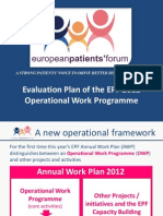 2 03 Evaluation Plan of the EPF, 2012 Operational Work Programme, Walter Atzori.pdf
