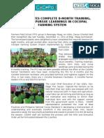 FFS Gruadtion Maag San Isidro Davao Oriental