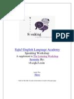 Speaking Workshop