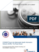 ONCHIT - Connecting to the Nationwide Health Information Network (NHIN) the Road Ahead