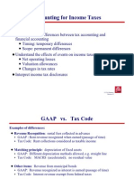 Accounting for Income Tax