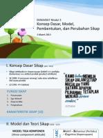 Ekma4567 Modul 3 Konsep Dasar, Model, Pembentukan, dan Perubahan Sikap