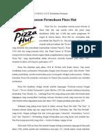 Materi Kesuksesan Perusahaan Pizza Hut