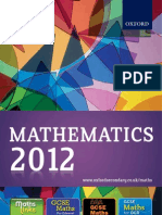 Maths 2012