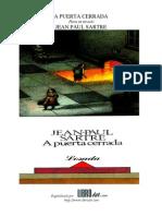 A puerta cerrada (Jean paul Sartre).pdf