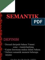 Semantik Bahasa Melayu
