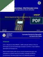 Apresentação SIRESP STP8000