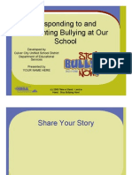 District Anti-Bullying Training