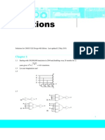 introduction to vlsi circuits and systems solution manual by john p