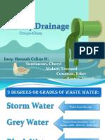 Sanitary Drainage Report
