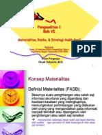 6. Materialitas, Risiko, & Strategi Audit Awal