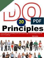 20 Do Principles