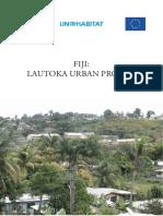Fiji - Lautoka Urban Profile