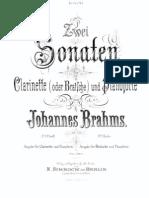 Brahms Sonata Op.120 No.2