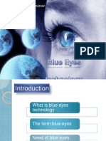 Blue Eyes Technology Ppt