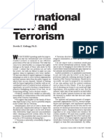 Terrorism and Public Int Law