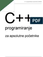 C++ Za Apsolutne Pocetnike