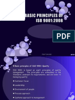 Principles as basis for ISO 9001:2000