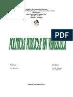 Conceptualizar las políticas públicas