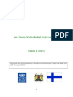 Kenya MDG Needs Assessment
