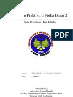 Laporan Praktikum Fisika Dasar II - KISI DIFRAKSI
