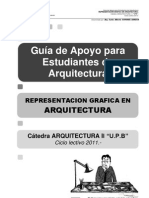 Guia de Apoyo Arq II Upb - Representacion en Arquitectura