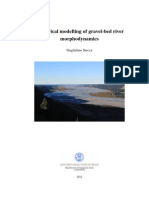 Numerical modelling of gravel-bed rivers morphodynamycs. Guglielmo Stecca
