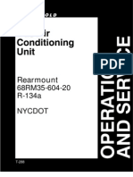 Carrier Bus Air Conditioning Rearmount 68RM35-604-20 (R134a)Operation&Service Manual [NYCDOT]  Pub#T288