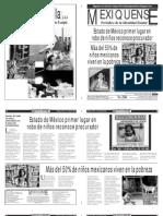 Versión impresa del periódico El mexiquense 5 abril 2013