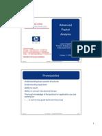 Advanced Packet Analysis