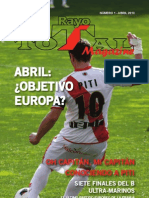 Rayo Total Magazine #1 Abril 2013