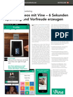 Vine - Videos für Hotels
