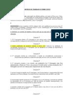 Modelo Contrato de Trabalho a Termo Resolutivo