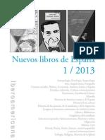 Nuevos Libros de España / 1-2013