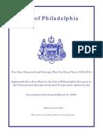 Philadelphia 5-year Plan