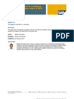 SAP BPC 7.0%3a Configuring Validation Business Rules in BPC MS