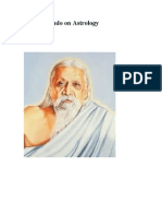 Sri Aurobindo on Astrology