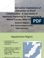 Environmental Justice Implications of Energy Extraction on Rural Communities