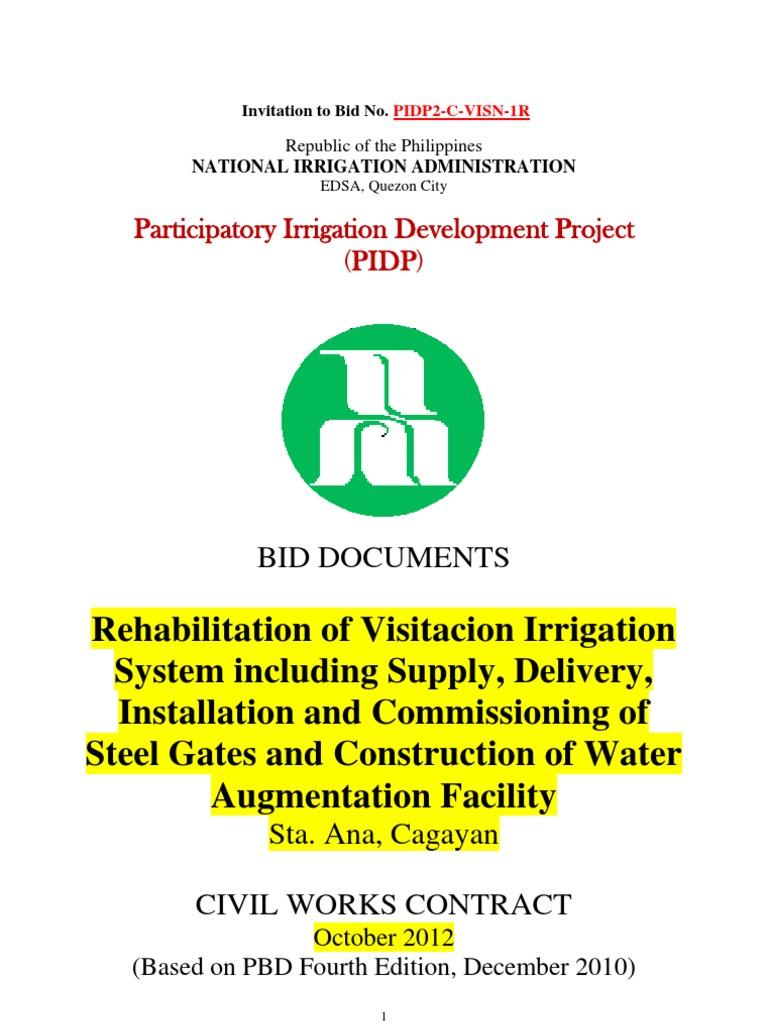 National irrigation administration invitation to bid joint venture national irrigation administration invitation to bid joint venture construction bidding stopboris Gallery
