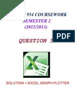 STPM Math T 954 Coursework 2013 [Sem 2] QUESTION 5