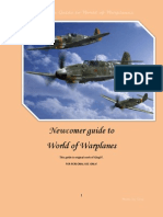 World of Warplanes Newcomers Manual