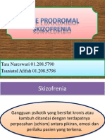 Fase Prodromal Skizofrenia
