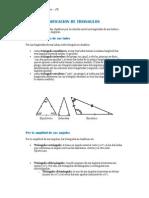 Clasificacion de Triangulos