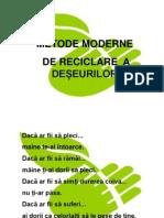 Metode Moderne de Reciclare a Deseurilor